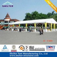 Guangzhou 30m Span SHELTER Large Party canopies for sales, carpas for sale in China, Leading tent manufacturer in China