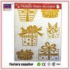 Glitter eco-friendly advertising glass sticker
