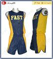 Unisex de encargo de capa única pista de jersey/deportes patrón de jersey