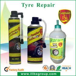 ISO9001 Aerosel Tire Puncture Repair 450ml