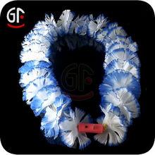2014 New Advertising Items Artificial Light Hawaiian Flower Lei