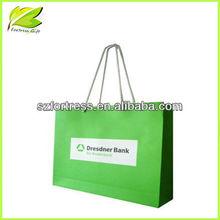 Paper souvenir bag for package