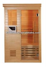 2person custom Finish Sauna Room (KD-8002SC)