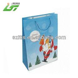Luxury Custom High Quality block bottom brown kraft paper bags