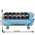 6600w aceite silencioso compresor de aire libre