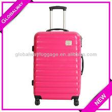 PC Coating ABS+PC Trolley Travelmate Metal School Bag