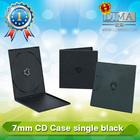 DIMA durable PP 5.2mm Single black CD case,pp cd box