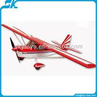 !Super Decathlon (747-5) alloy landing gear 6-CH plastic body durable nitro class rc hobby rc model airplane kits
