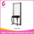 Doble- lado del espejo de acero inoxidable de la estación/peluquería aparato