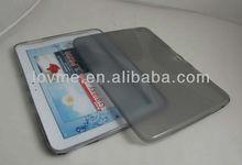 x line clear transparent translucency tpu gel case cover skin for samsung galaxy tab 3 10.1 p5200