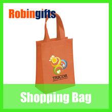 Red cheap popular fashion design hot non-woven shopping bag