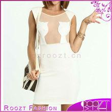2013 Summer Cat Silhouette Bodycon Dress Woman Chiffon Dresses RD0503