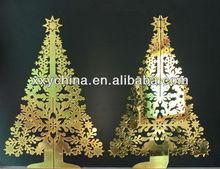 christmas tree acrylic mirror wall decors