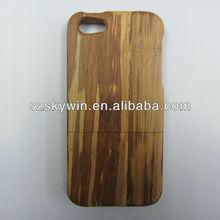 original ecology wood mobile case for apple phones back skin