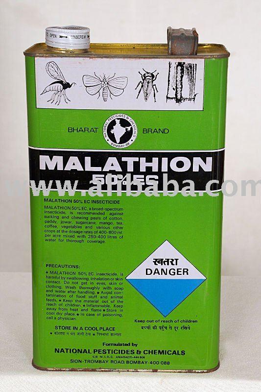 hazard of malathion