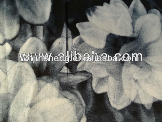 100% Cotton poplin printed fabric