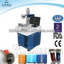 2014 Newest Cheap Price 10W Fiber Transparent Button Laser Printing Machine OEM Factory