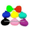 Neue stilvolle silikon geldbörse 2013/silikon candy taschen/coloful silikon taschen/silizium strandtasche