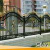 Ornamental Cast Iron Fence,Iron Fencing for Home,Garden as Protection