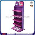 Tsd-m203 de encargo al por menor tienda de diseño de niza con recubrimiento de polvo de metal juguetes del perro / gato de la exhibición de juguetes / del animal doméstico de la exhibición de juguetes