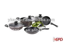 16 pcs prestige cookware set wth nonstick coating