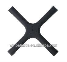 Cast Iron Black Cross Table