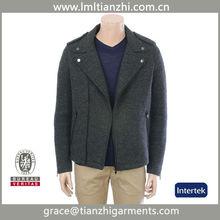 New Men's Wool Blend Coats
