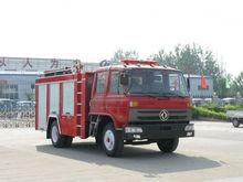 DONGFENG 4*2 antique fire truck, metal model fire truck, electric fire truck