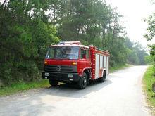 Dongfeng marca 4*2 modello in metallo autopompa, elettrico fuoco camion, camion di lotta antincendio