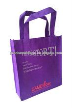 2013 New design Non-Woven purple shopping bags (PRA-947)