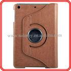 For iPad mini 360 Degree Rotating PU Leather Case for ipad cover