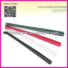 wholesale 60cm hotel long handled colored elbow plastic shoe horn HA01305