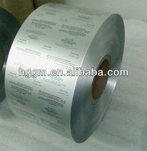 Capsules pharmaceutical aluminium foil with printing