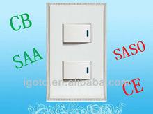 European style light switch