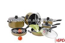 Aluminum nonstick coated cookware korean