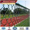 green pvc chain link fence / green chain link fence (factory)