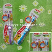 Lovely cartoon kids toothbrush by kids toothbrush oem