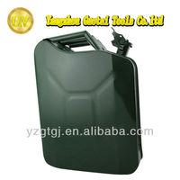 5 gallon metal rectangular jerry can