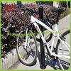 Black powder coated bike stand