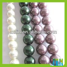 2013 DIY accessories glass pearl loose girasol pearl