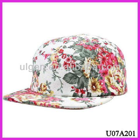 Floral Snapback Hats For Girls Girls Floral Snapback Hat