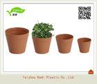 KD7-KD15 Plastic small flower pots planter/ flowerpot plastic