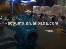 Split case dc electric motor hydraulic pump