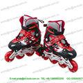 Flash ajustável juventude quad 4 rodas patins/skate shoes