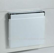 Vendita calda fatta di alta- Tech pu e in acciaio inox pieghevole bagno e doccia sede tx-116n