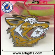 2014 Custom shape metal animal lapel pin