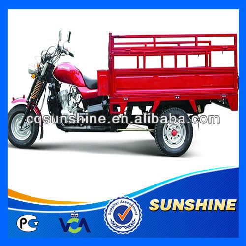 2013 New Gas Hot Seller 200CC Twin Tricycle
