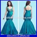 Pure ed-1969 bouchon manche longue robe du soir dos nu sexy sirène, arabe. nouveau style robe de soirée longue