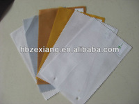 100% woven fusible resin interlining fabric( for the sports cap, trousers, T-shirt)