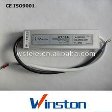 CE ROHS IP67 LPV-10 10w waterproof led power supply